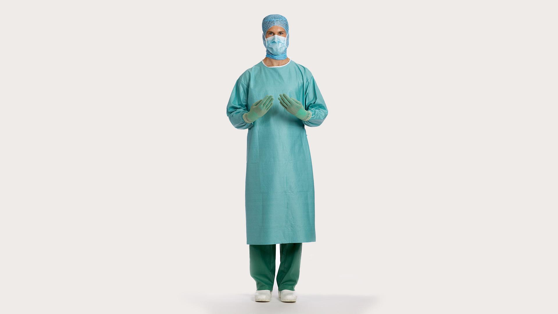 a00093b63 Bata quirúrgica BARRIER Classic